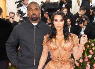 Kim Kardashian with Husband Kenya