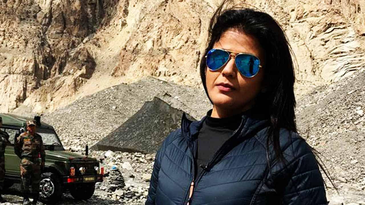 Sweta Singh Anchor