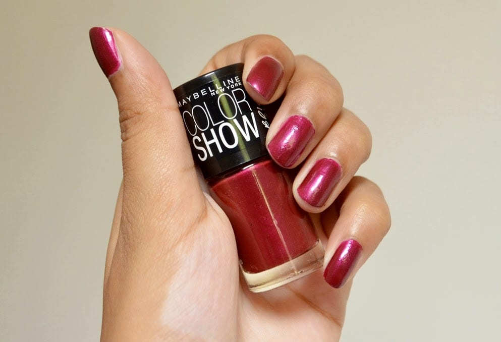 Review/Giveaway: Maybelline Color Show In Glowing Wine (Bright ...