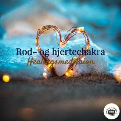 healing rod- og hjertechakra