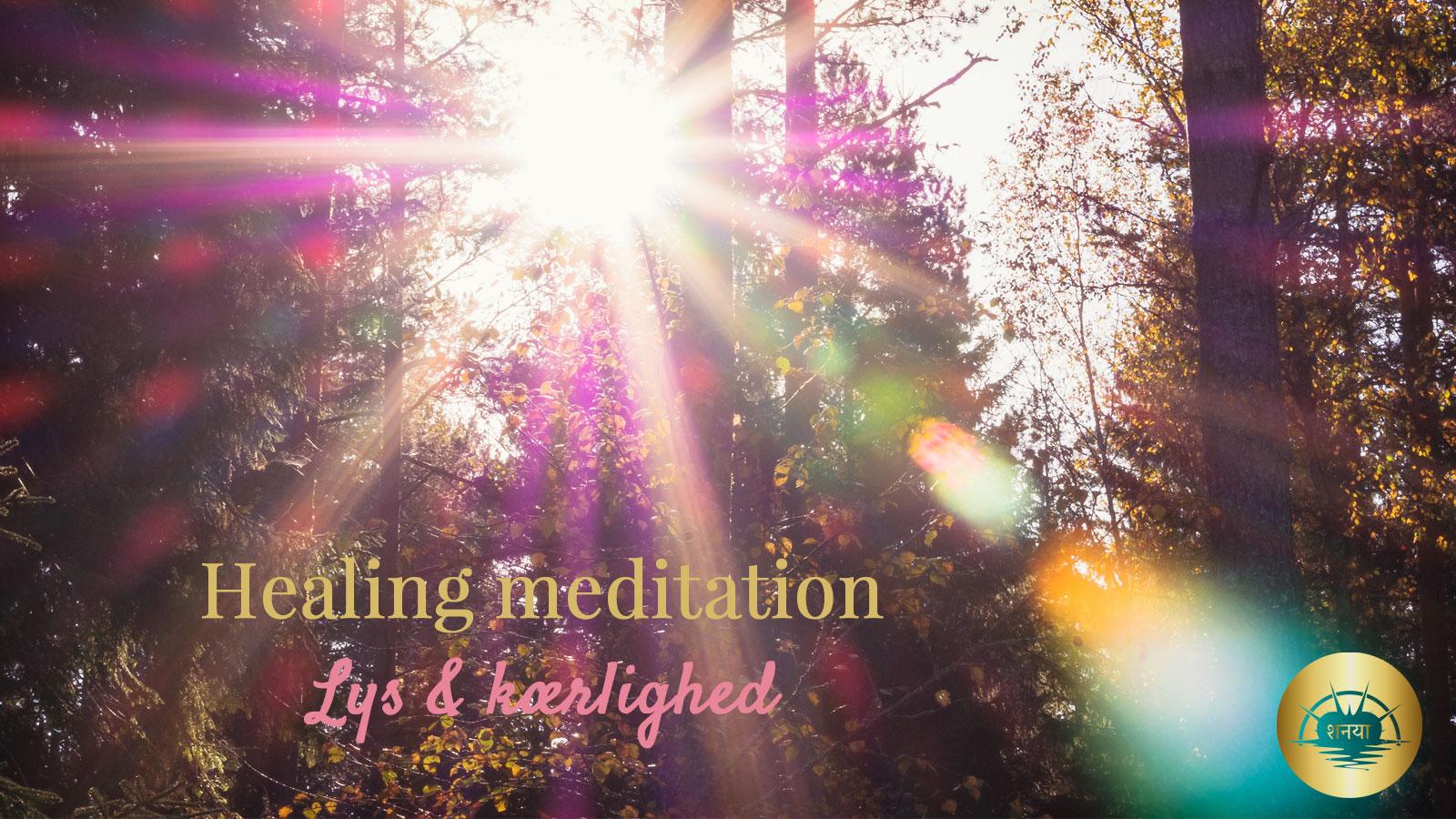 healing meditation lys og kærlighed