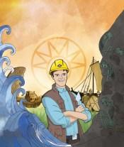 'Telling Scotland's Story' cover illustration