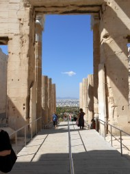 At the Crest of the Acropolis