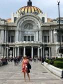 Shannita at Palacio de Bellas Artes
