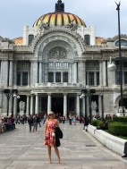 Shannita at Palacio de Bellas Artes