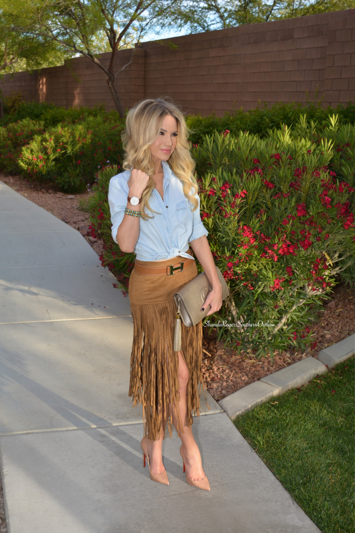 Fringe And Denim