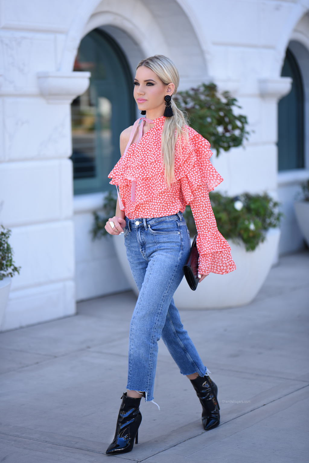 Bright And Summery Statement Top