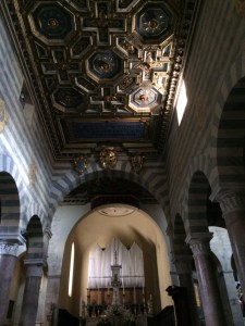 Built in 1280, this Romanesque basilica is still a living entity.