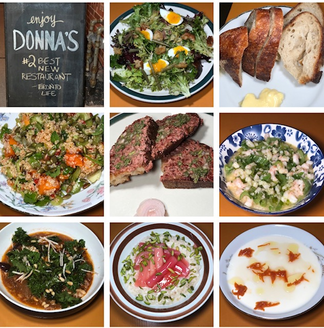 Whats on the menu at Donnas a new neighbourhood spot