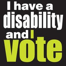 I have a disability and I vote