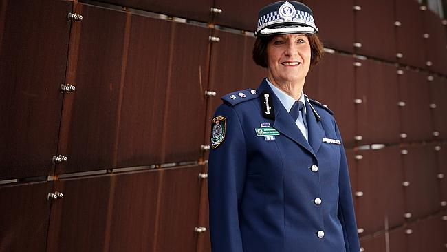 Superintendent Doreen Cruickshank, celebrating 100 years of women in the New South Wales police force.