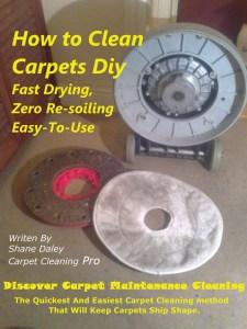 Carpet buffer system e book cover