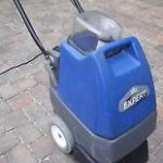 Easy to use upright carpet cleaning machine.