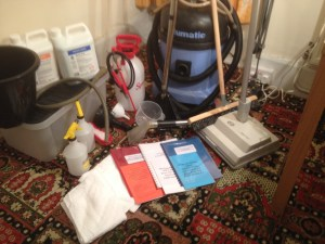 carpet cleaning package