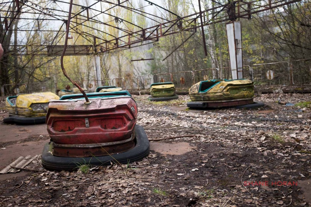 The dodgems, Pripyat, Chernobyl, Ukraine