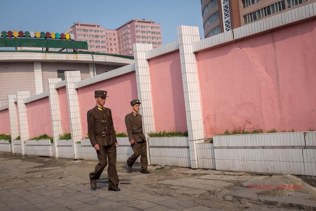 Seen in Pyongyang, North Korea