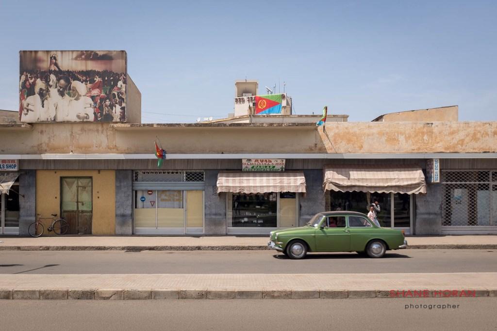 Asmara street.