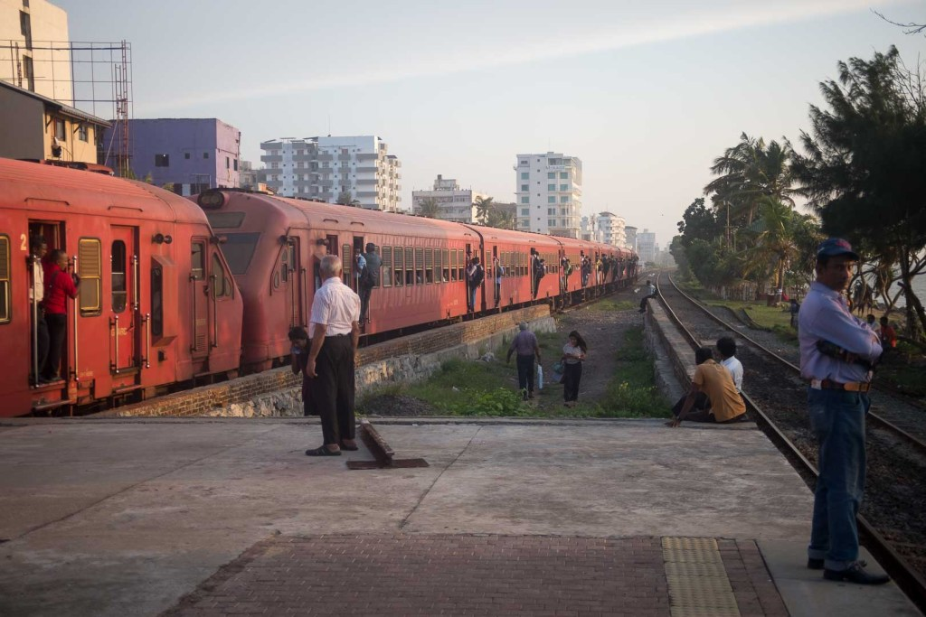 Train station, Colombo, Sri Lanka