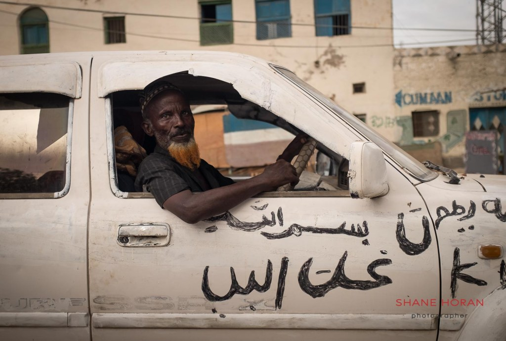 Curious passer by in Berbera, Somaliland