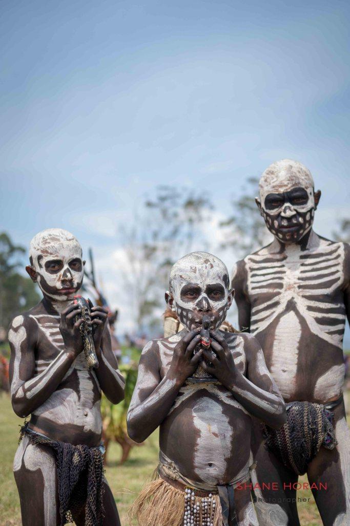 Members of the Chimbu, Papua New Guinea