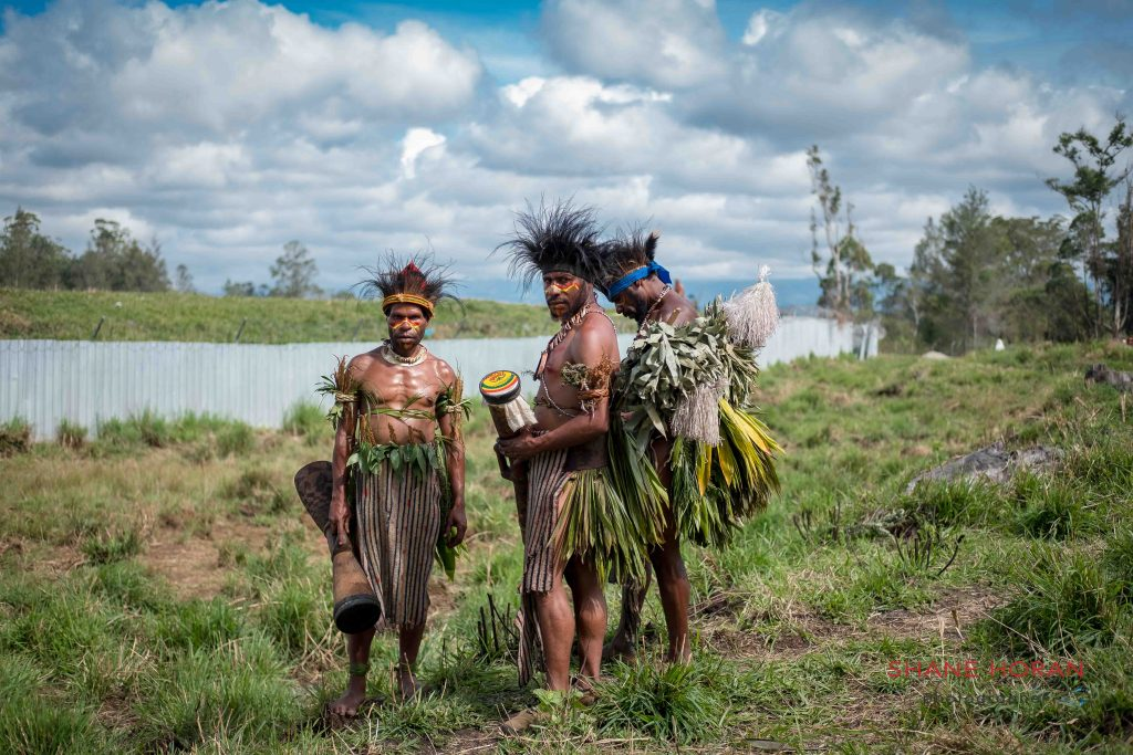 Patiently awaiting the Mt Hagen show, Papua New Guinea