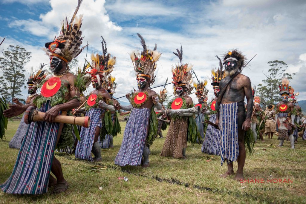 Directing the Tribe, Papua New Guinea