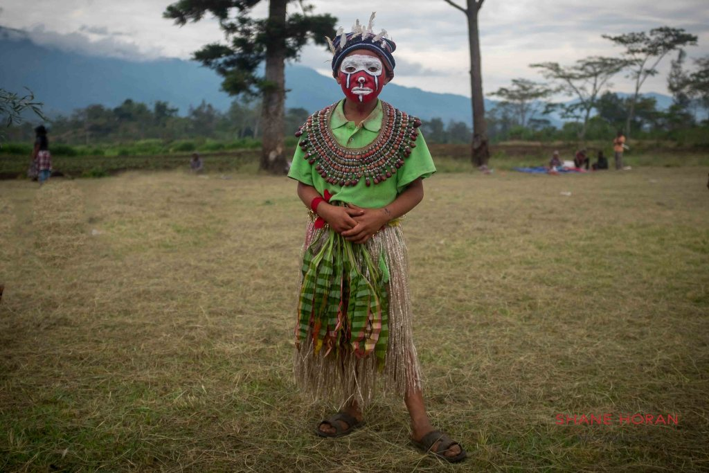 At the school show, Papua New Guinea