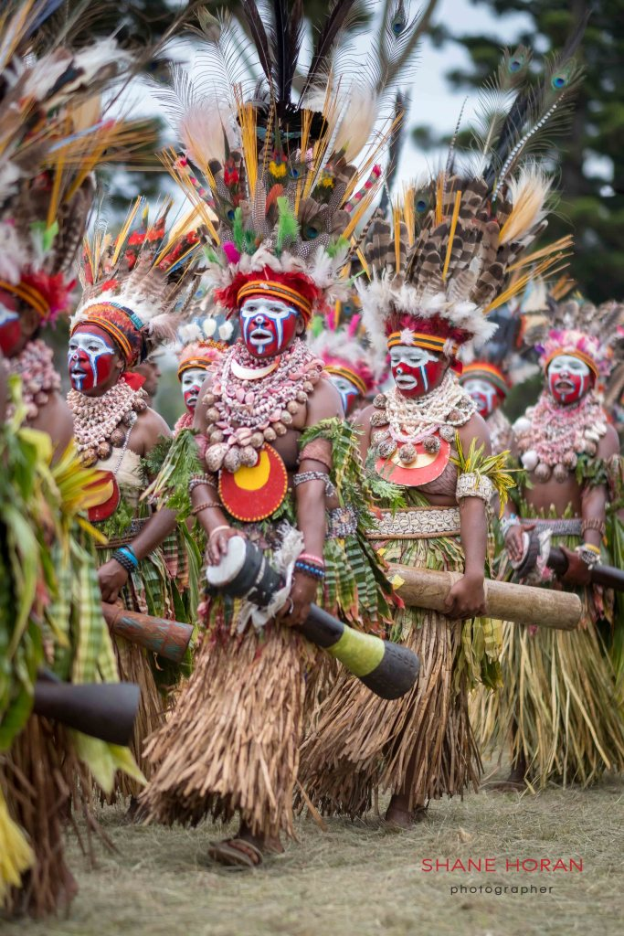 Village school show, Papua New Guinea