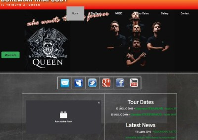Bohemian Rhapsody – il Tributo ai Queen – Italian Queen Tribute Band