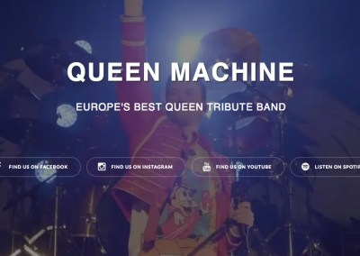 Queen Machine – Scandinavian Queen Tribute Band