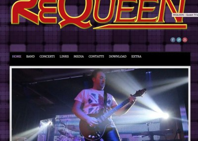 ReQueen – Italian Queen Tribute Band