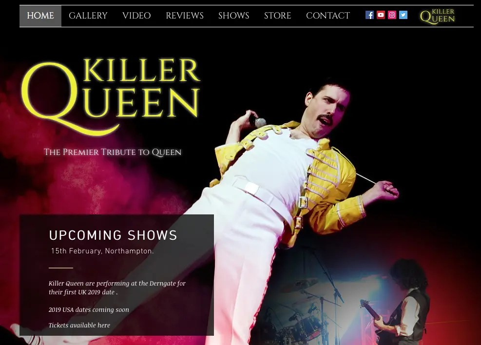 Queen Tribute Bands Archives - Page 2 of 6 - Shane's Queen Site