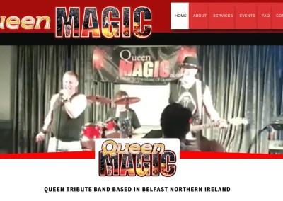 Queen Magic – Northern Ireland Queen Tribute Band