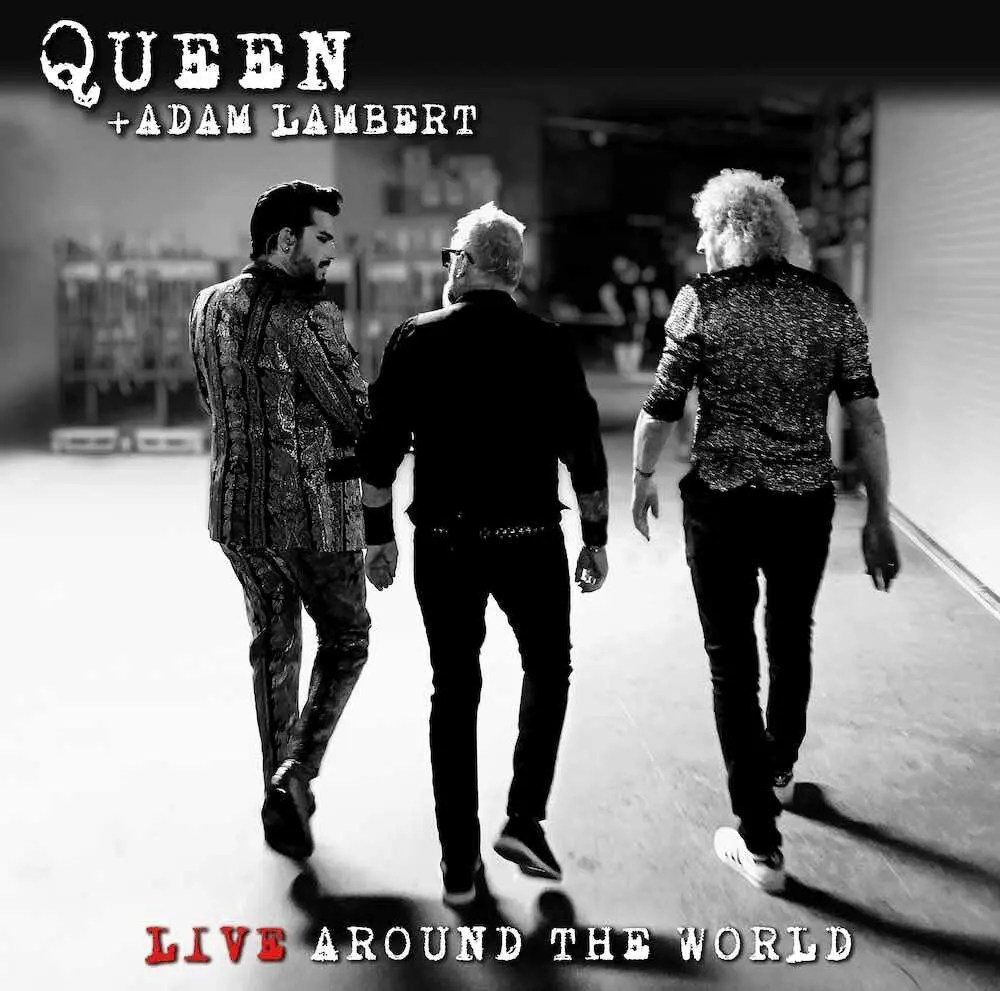 Queen + Adam Lambert - 'Live Around the World' Album - October 2nd
