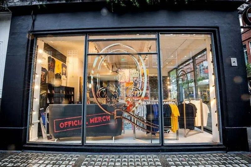Queen Store Carnaby Street now Open, Celebrating 50 years of Queen