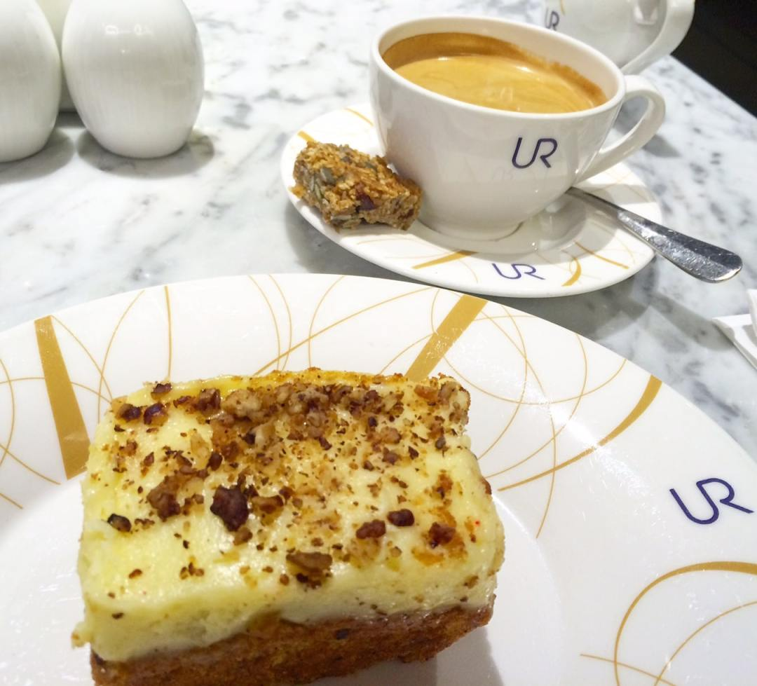 Coffee and Cake in Harrods