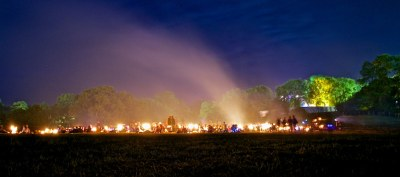 The Stone Circle at Glastonbury After Dark