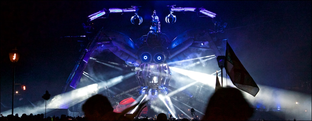 The Arcadia Spider at Glastonbury Festival