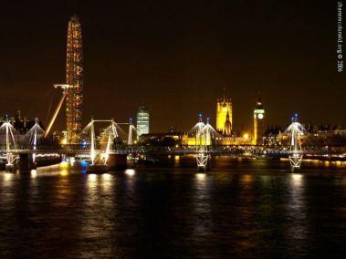 Thames looking West, London, United Kingdom