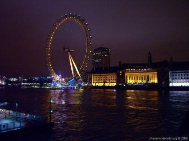 The British Airways London Eye, London, United Kingdom