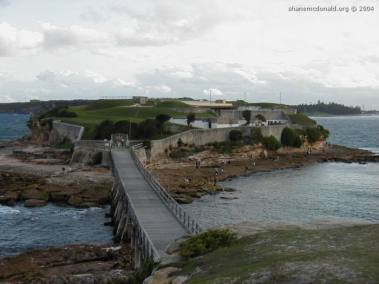 Mission Impossible, New South Wales, Australia This island and wooden bridge were used in one of the Mission Impossible movies, where Tom Cruise rides over it on a motorbike.