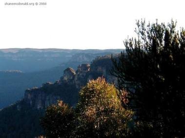 The Three Sisters from Leura., New South Wales, Australia The Greater Blue Mountains Area was entered to the World Heritage List at the 24th Session of the World Heritage Committee, held in Cairns in December 2000.
