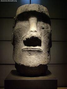 Easter Island Head, Paris, France