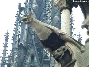 Notre Dame Gargoyle, Paris, France