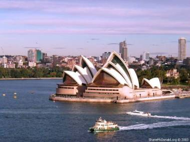 Sydney Opera House, Sydney, Australia The Opera House was built in the late 1950's, the result of a design competition. Initially, it had its share of criticism but today it has become a symbol of Australia.