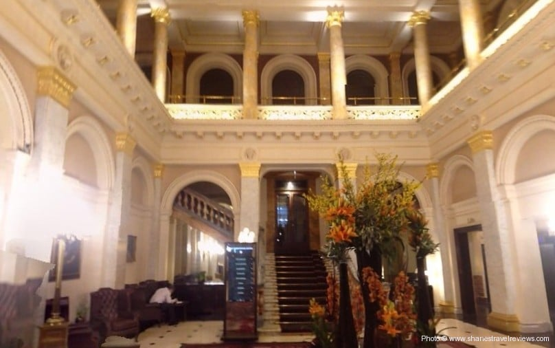 Hotel Review of The Grosvenor Hotel, Victoria, London