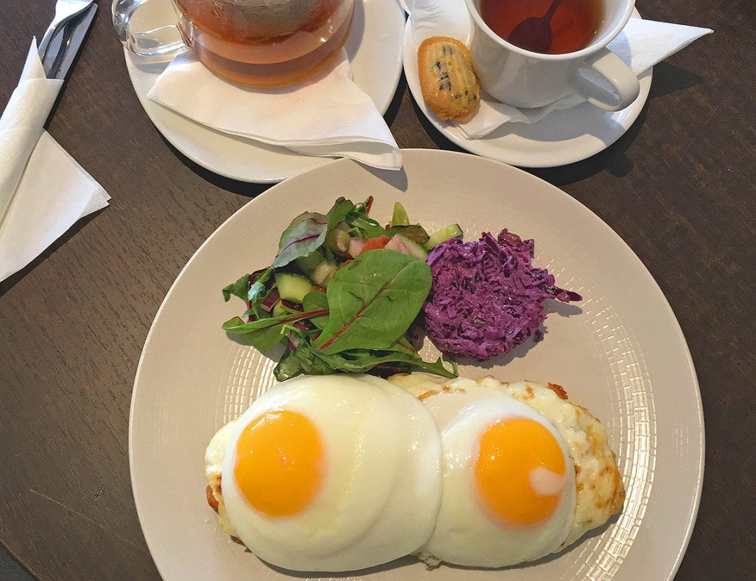 Croque Madame - Lunch at The Bay Tree Bistro, Waterford - Restaurant Review