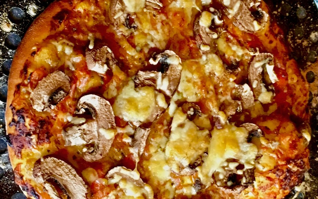 Delicious homemade pizza recipe