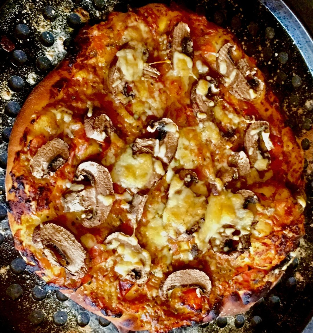 My Pizza Recipe - The Pizza Cooked and delicious