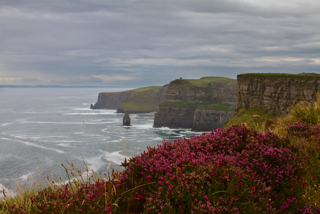 Cliffs of Moher, on the Wild Atlantic Way Driving Route